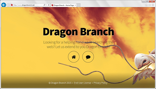 Misguiding description of Dragon Branch on its site