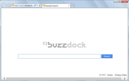Browser homepage changed to search.buzzdock.com