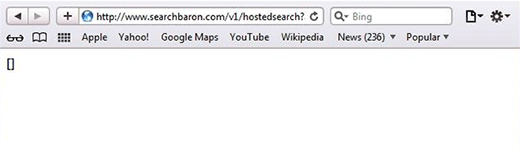Remove SearchBaron com redirect virus from Mac | Keone Software